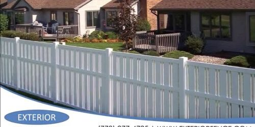 Fence Products Home Of Exterior Fence Builders